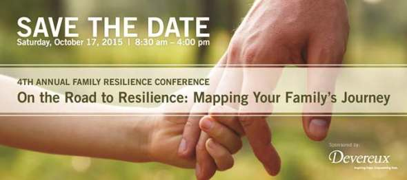 Devereux Family Resilience Conference Save the Date 2015-front