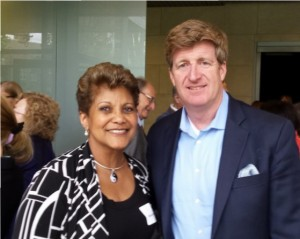 Former Congressman Patrick J. Kennedy and Dr. Marilyn Benoit