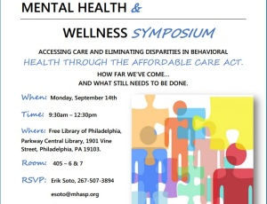 MENTAL HEALTH & WELLNESS SYMPOSIUM