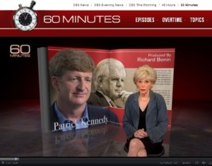 Patrick Kennedy on 60 Minutes