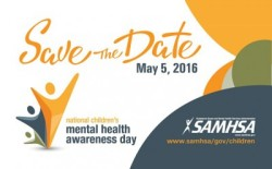 2016 National Children's Mental Health Awareness Day