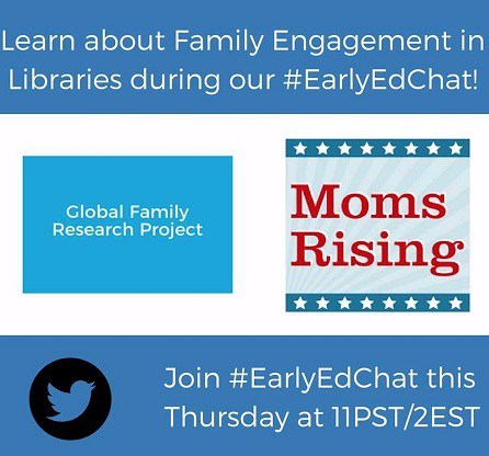 Twitter Chat about Family Engagement in Libraries